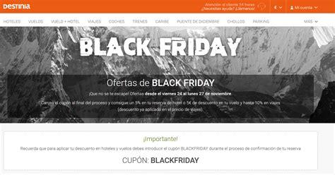 Ofertas de viajes para Black Friday 2017   Destinia News