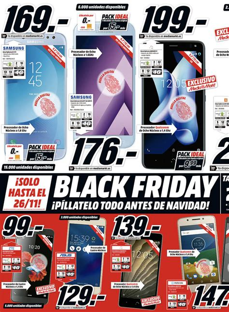 Ofertas del catálogo Media Markt  Black Friday  2017