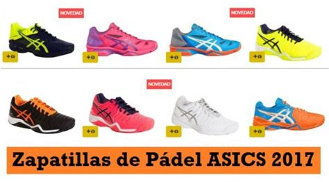 ¡OFERTAS! Zapatillas ASICS Pádel más BARATAS