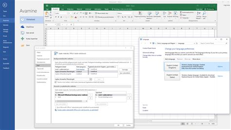 Office 2016 changed the UI language. How do I revert it ...