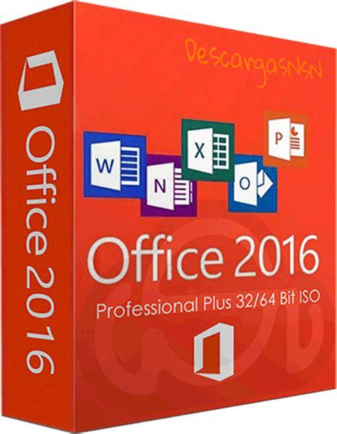 Office 2016 Professional Plus Español » DescargasNsN ...