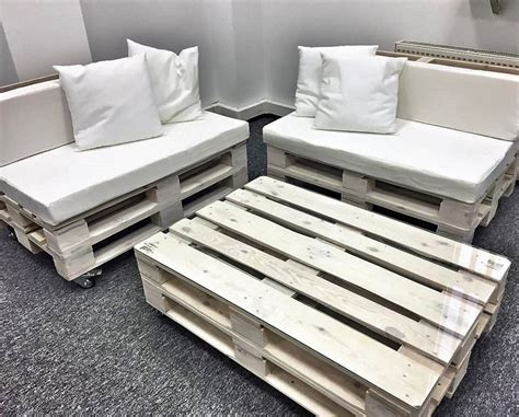 Office Furniture Made with Pallets | Wood Pallet Furniture