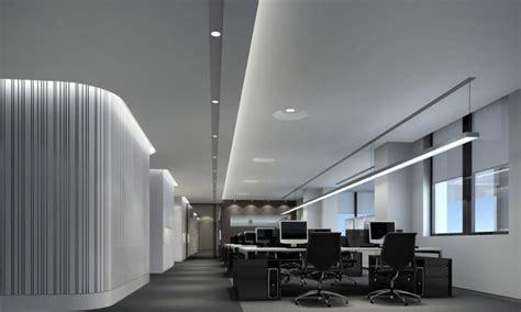 Office lighting design, minimalist office interior design ...
