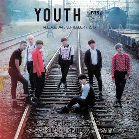 Official BTS / Bangtan Boys 'Youth' Japanese Album CD ...
