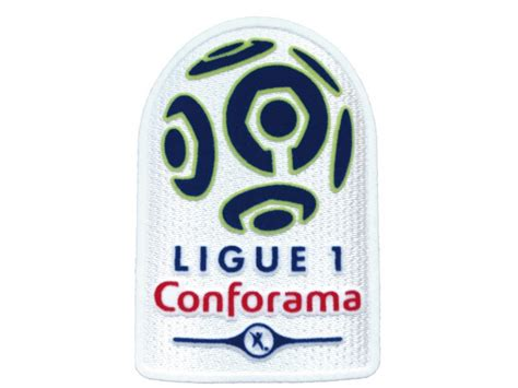 Official France Ligue 1 Conforama Sleeve Patch (Season ...
