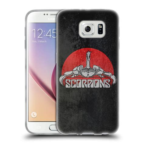 OFFICIAL SCORPIONS CUSTOM ART SOFT GEL CASE FOR SAMSUNG ...