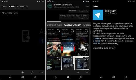 Official Telegram Messenger Preview app for Windows Phone ...