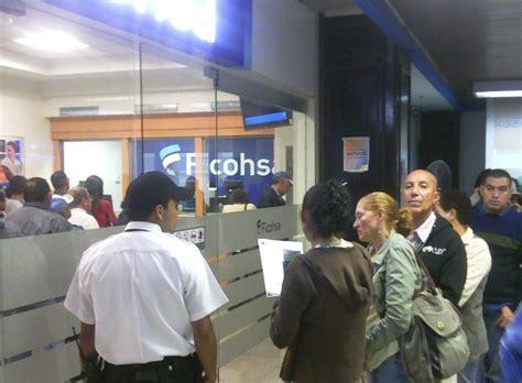 Oficinas de banco Ficohsa