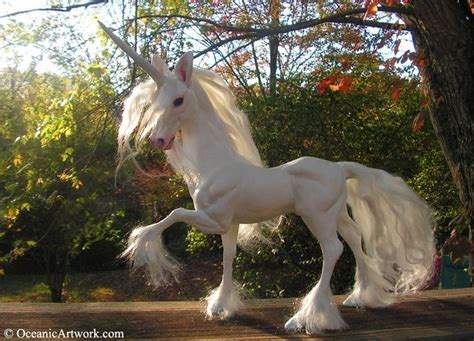 Ohhh   I so wish that he was real! Unicorn Sculpture ...