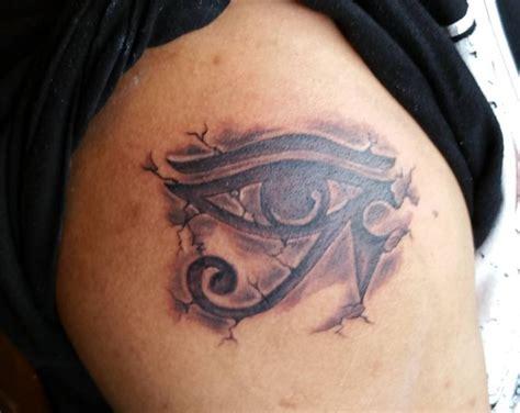 Ojo egipcio - Tatuajes del ojo de Horus y sus significados