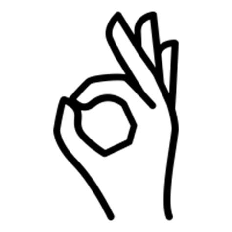 Ok-hand icons | Noun Project