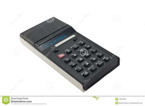 Old Calculator. Royalty Free Stock Photo - Image: 13612595