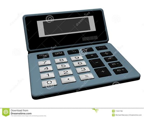 Old Calculator Royalty Free Stock Photos - Image: 11551738