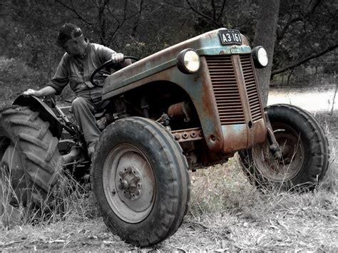 Old School Working Little Grey Fergie   Antique tractors ...