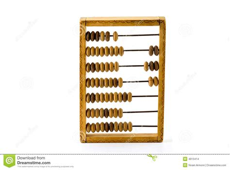 Old Wooden Calculator Stock Images - Image: 4913414