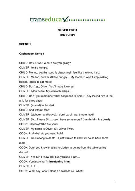 Oliver twist teatro_ingles_script_edit