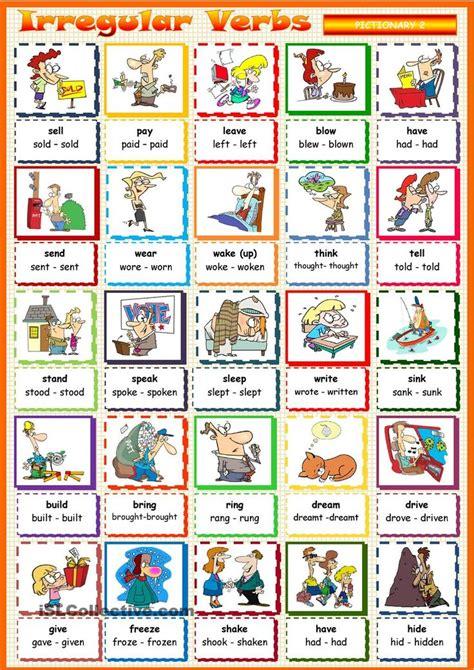 Oltre 25 fantastiche idee su Verbos irregulares inglés su ...