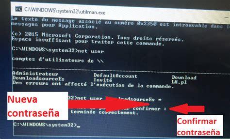 Olvidé la contraseña de usuario de Windows 10: Solución e ...