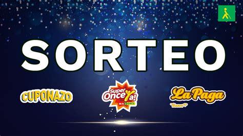 ONCE: Comprobar Cuponazo y Super Once de hoy, 11 de mayo ...