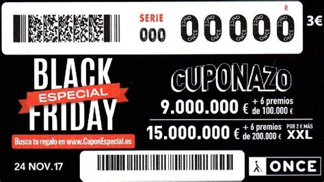 ONCE: Cuponazo Black Friday del viernes 24 de noviembre de ...