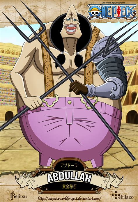 One Piece   Abdullah by OnePieceWorldProject on DeviantArt
