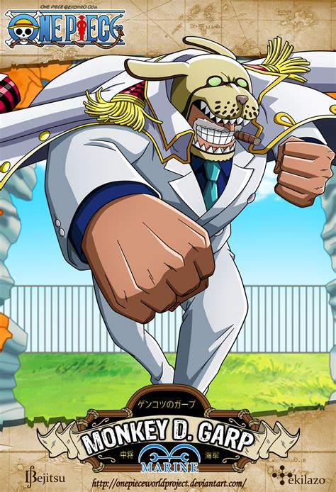 One Piece   Monkey D. Garp by OnePieceWorldProject on ...