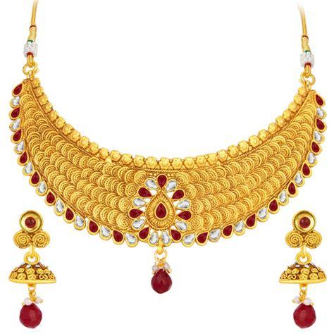 Online Shopping Sukkhi Designer Jalebi Gold Plated ...