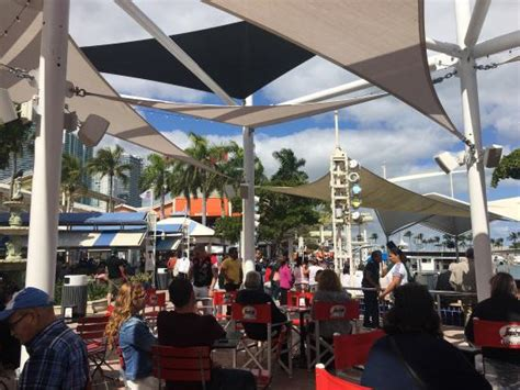 Open air cafe place - Picture of Segafredo Bayside, Miami ...