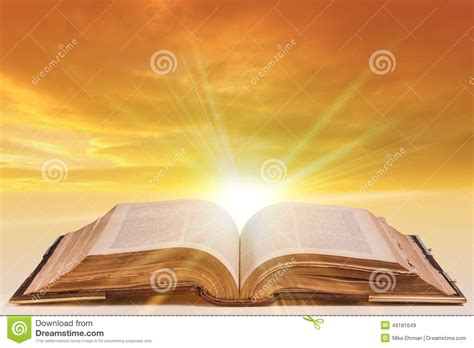 Open Bible Stock Photo - Image: 49181649