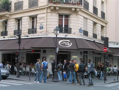Open Café Paris guide Bar gay