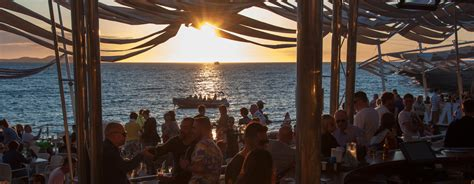 Opening Sunset At Cafe Del Mar