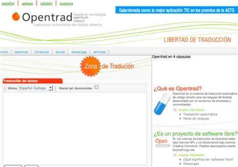OpenTrad, traductor de código abierto