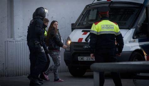 Operación antidroga de los Mossos d Esquadra. POLICIA