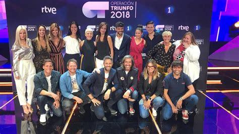 Operación Triunfo: OT 2018 regresa a TVE y da la ...