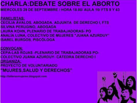 Opiniones de debate sobre el aborto
