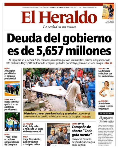 Opiniones de El Heraldo (Honduras)