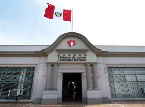 Opiniones de Ministro de Justicia y Derechos Humanos del Perú