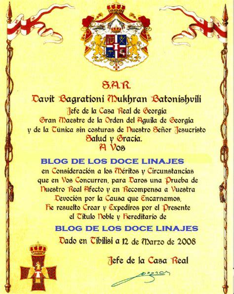 Opiniones de Títulos reales y nobiliarios de España