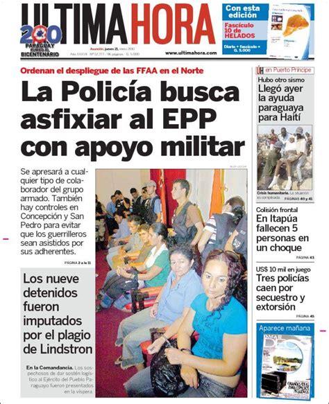 Opiniones de Última Hora  Paraguay