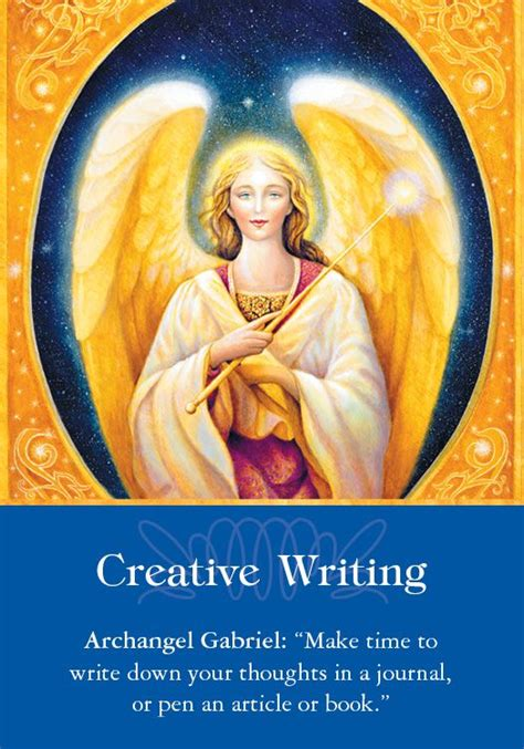 Oracle Card Creative Writing | Doreen Virtue | official ...