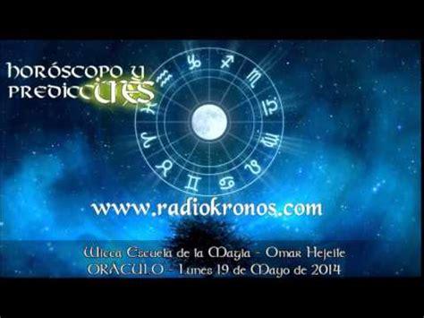 ORÁCULO: HORÓSCOPO Y PREDICCIONES 19 DE MAYO DE 2014 ...