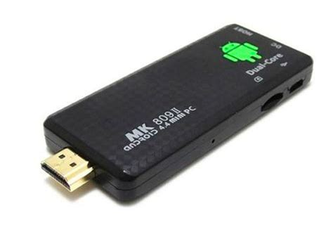 ORDENADOR MINIPC IPTV TVBOX Android SmartTV MK 809 II Full ...