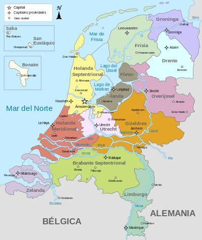Organización territorial del Reino de los Países Bajos ...