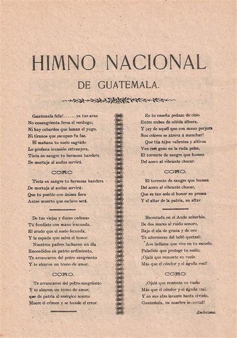 Orgullo Guatemalteco: Análisis de la Letra de Himno ...