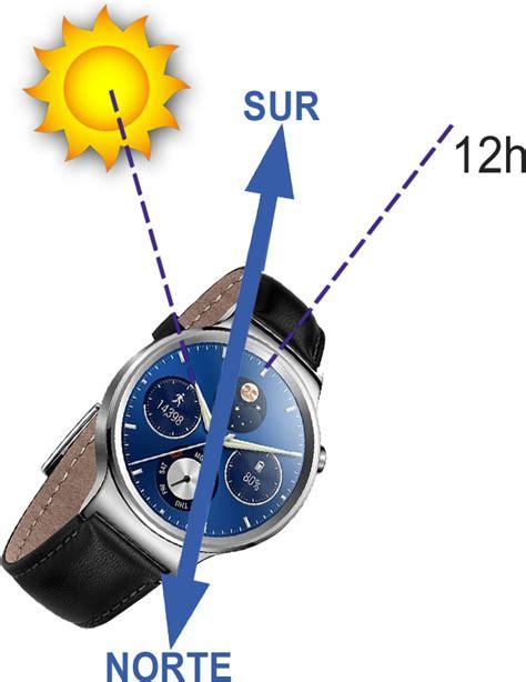 Orientarse con el Sol y un Reloj - The Adventure Factory