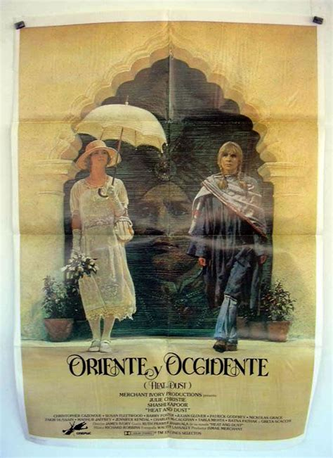 ORIENTE Y OCCIDENTE  MOVIE POSTER    HEAT AND DUST  MOVIE ...
