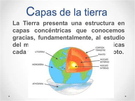 Origen y capas de la Tierra, tectónica de Placas   ppt ...