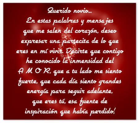 Originales Mensajes Con Frases De Amor Para Mi Novio ...