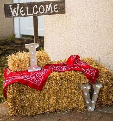 Originales y sencillos adornos vaqueros para fiestas ...