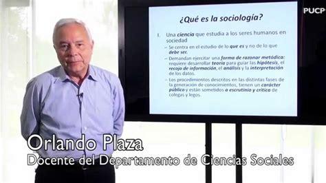 Orlando Plaza: ¿Qué es la sociología? - PUCP - YouTube